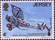 [The 50th Anniversary of the Royal Air Force Association, Jersey Branch, Typ CU]