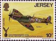 [The 50th Anniversary of the Royal Air Force Association, Jersey Branch, Typ CW]