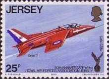 [The 50th Anniversary of the Royal Air Force Association, Jersey Branch, Typ CX]