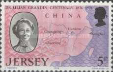 [The 100th Anniversary of the Birth of Dr. Lilian Mary Grandins, type DU]