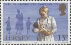 [The 100th Anniversary of the Birth of Dr. Lilian Mary Grandins, type DX]