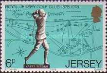 [The 100th Anniversary of the  Royal Jersey Golf Club, Typ EO]