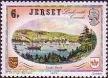 [Historical Relations between Jersey and Canada, Typ EV]