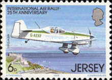[The 25th Anniversary of the international Air Rally, type FO]