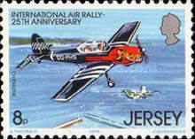 [The 25th Anniversary of the international Air Rally, type FP]