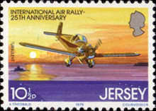 [The 25th Anniversary of the international Air Rally, type FQ]