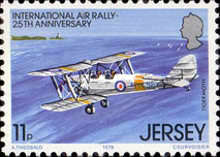 [The 25th Anniversary of the international Air Rally, type FR]