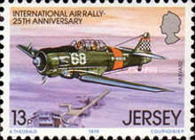 [The 25th Anniversary of the international Air Rally, type FS]