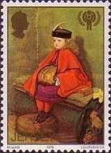 [International Year of the Child - The 150th Anniversary of the Birth of John Everett Millais, type FT]