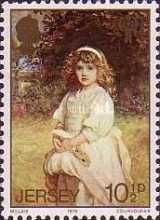 [International Year of the Child - The 150th Anniversary of the Birth of John Everett Millais, type FT1]