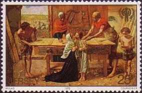 [International Year of the Child - The 150th Anniversary of the Birth of John Everett Millais, type FV]