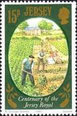 [Agriculture - The 100th Anniversary of The Jersey Royal Potato, type GG]
