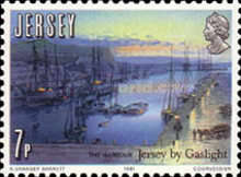 [The 150th Anniversary of Jersey by Gaslight, type HU]