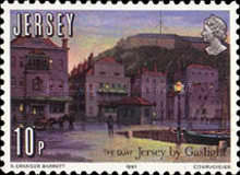 [The 150th Anniversary of Jersey by Gaslight, type HV]