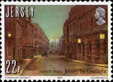 [The 150th Anniversary of Jersey by Gaslight, type HX]