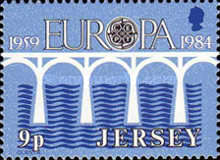 [EUROPA Stamps - Bridges - The 25th Anniversary of CEPT, Typ KE]