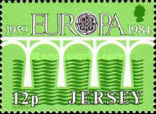 [EUROPA Stamps - Bridges - The 25th Anniversary of CEPT, Typ KE1]