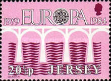 [EUROPA Stamps - Bridges - The 25th Anniversary of CEPT, Typ KE2]