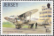 [The 50th Anniversary of Jersey Airport, Typ ND]