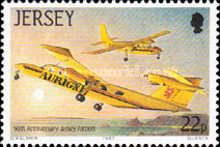 [The 50th Anniversary of Jersey Airport, Typ NF]
