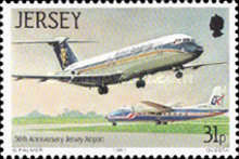 [The 50th Anniversary of Jersey Airport, Typ NH]