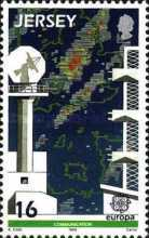 [EUROPA Stamps - Transportation and Communications, Typ ON]