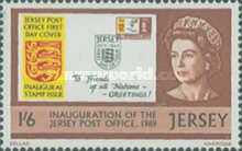 [Independence of Jersey Mail Office, Typ P2]