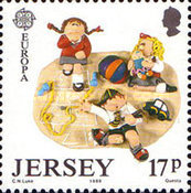 [EUROPA Stamps - Children's Games, Typ QC]