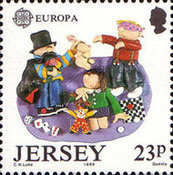 [EUROPA Stamps - Children's Games, Typ QD]