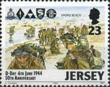 [The 50th Anniversary of D-Day, type WX]