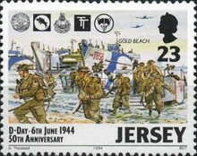 [The 50th Anniversary of D-Day, type WY]