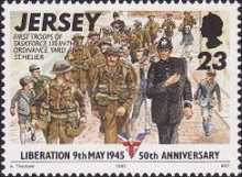 [The 50th Anniversary of Liberation from German Occupation - 9th May 1945, type YN]