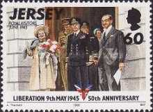 [The 50th Anniversary of Liberation from German Occupation - 9th May 1945, type YQ]