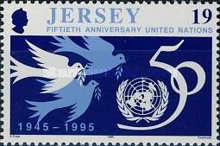 [The 50th Anniversary Of The Founding Of The United Nations Organisation, Typ ZJ]
