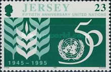 [The 50th Anniversary Of The Founding Of The United Nations Organisation, Typ ZK]