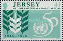 [The 50th Anniversary Of The Founding Of The United Nations Organisation, type ZK1]