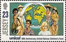 [The 50th Anniversary Of The United Nations Childrens`s Fund, UNICEF, Typ ZS]