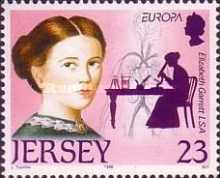 [EUROPA Stamps - Famous Women, type ZZ]