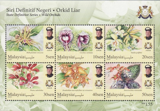[Definitives - Wild Orchids, type ]