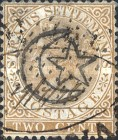 [Straits Settlements Postage Stamp Overprinted, Typ A]