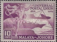 [The 75th Anniversary of Universal Postal Union (UPU), Typ V]