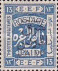 [Jordan Postage Stamps of 1925 Overprinted & Surcharged in Arabic, Typ E4]
