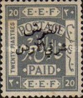 [Issue of 1920 Surcharged in Black, type B10]