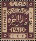 [Issue of 1920 Surcharged in Black, type B7]