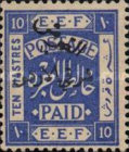 [Issue of 1920 Surcharged in Black, type B9]