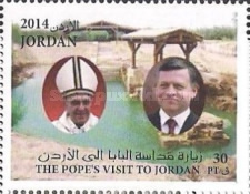 [The 50th Anniversary of the First Papal Visit to Jordan, type BET]