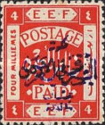 [Issue of 1920 Overprinted in Violet, type C3]