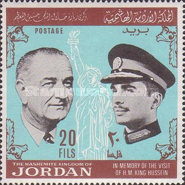 [King Hussein's Visit to France and the U.S.A., type FJ]
