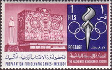 [Preparation for Olympic Games in Mexico 1968, type HI]