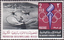 [Preparation for Olympic Games in Mexico 1968, type HJ]